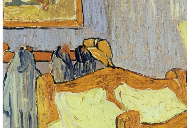Riproduzione quadro Camera da letto di Van Gogh ad Arles