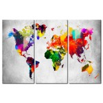 Tableau sur verre acrylique Artistic World - Triptych [Glass] 94548 additionalThumb 1