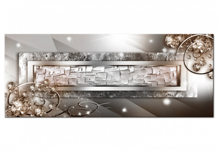 Glass and Crystals (1-part) Wide Beige