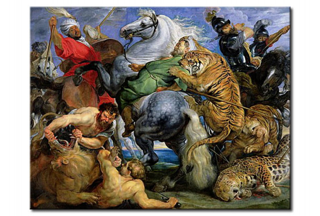 Reproduction Painting The Tiger Hunt 51758