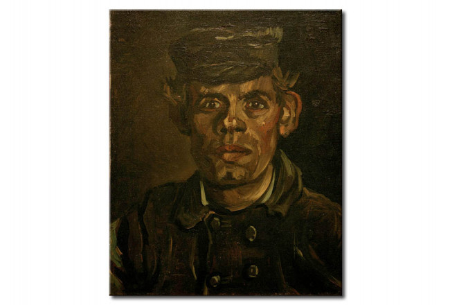 Art Reproduction Portrait of a Young peasant in a Peaked Cap 52468