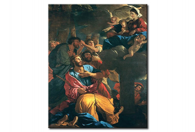 Réplica de pintura The Apparition of the Virgin the St. James the Great 109388