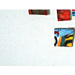 Bild auf Leinwand Bunte Quadrate  48188 additionalThumb 1