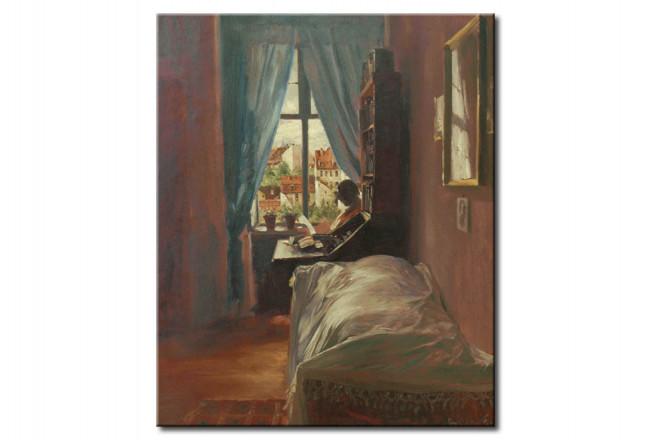Riproduzione quadro Camera da letto dell\'artista