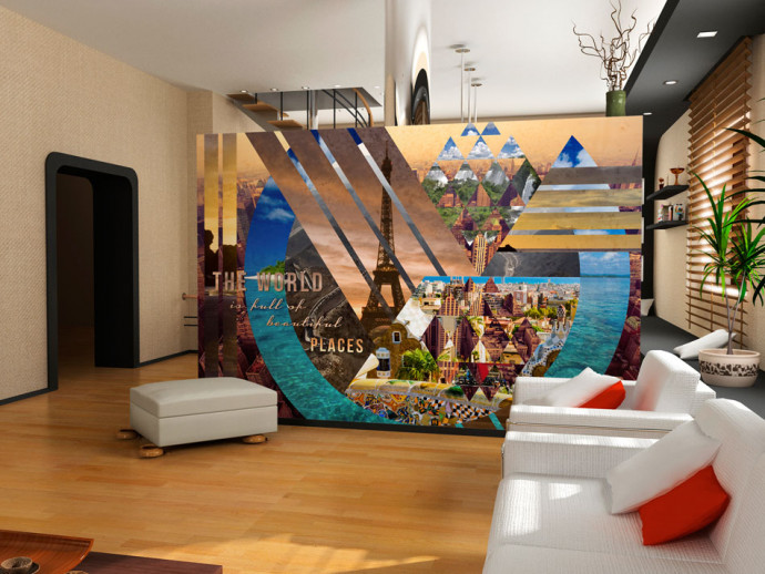 Wall Mural The world ... 59788