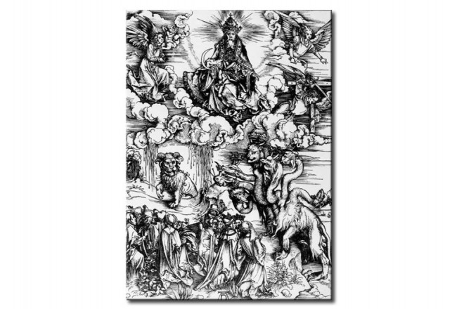Quadro famoso The Sevenheaded Beast and the Beast with the Rams' Horns 108598