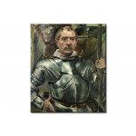 Quadro famoso Self portrait in armour 112698