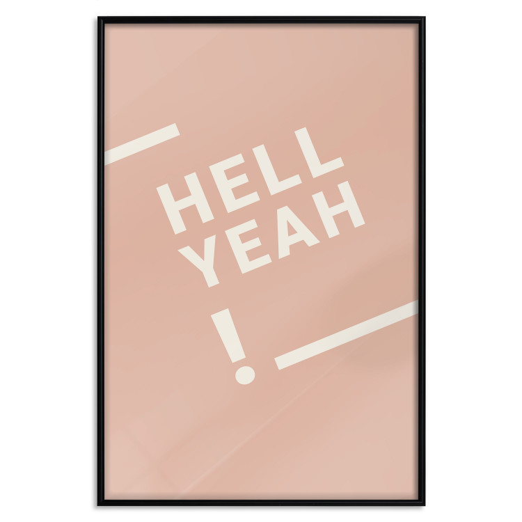 Hell Yeah! [Poster]