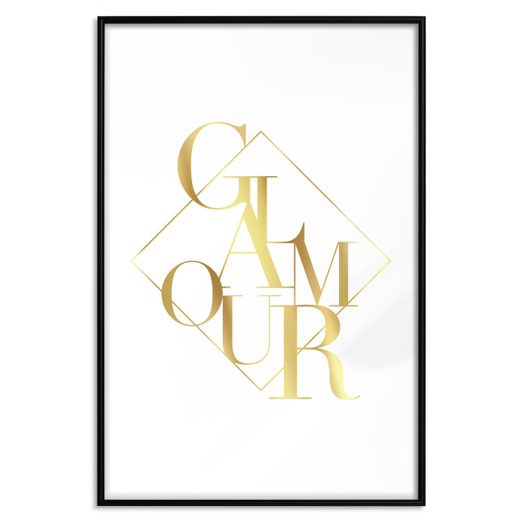 Glamour [Deco Poster - Gold]
