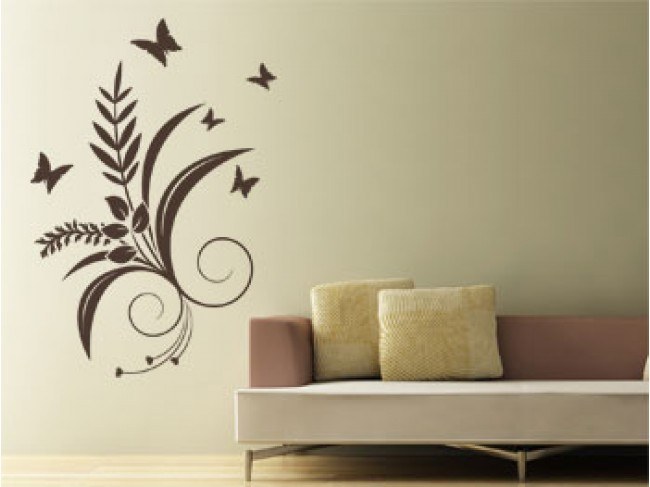 Wall Decal Plant motif 99029