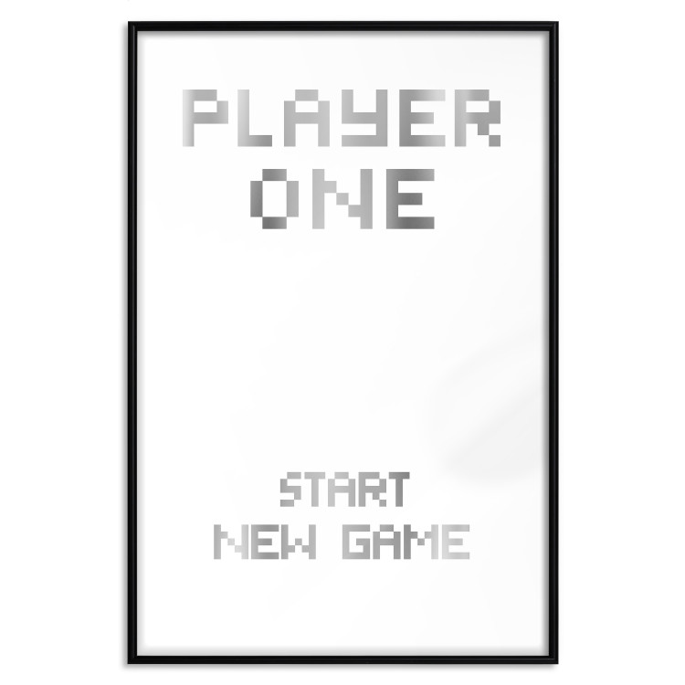 Start new game [Deco Poster - Silver]