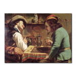 Reproduction Painting The Game of Draughts 52939