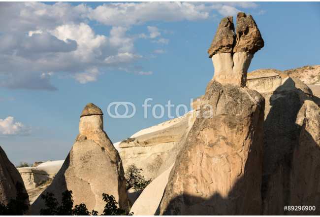 Rock formations in Goreme National Park. Cappadocia,  Turkey 64239