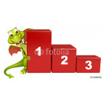 fun Dragon cartoon character with level 64239