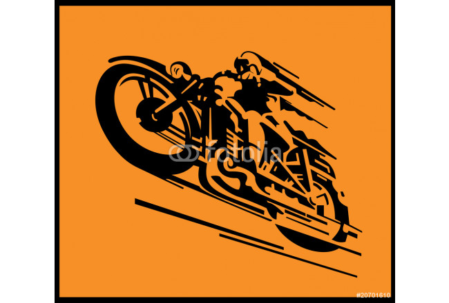 Motorcycle vector background 64239