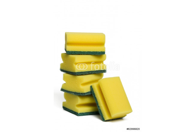 pile of  cleaning sponges  64239