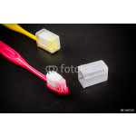 Set of colorful toothbrushs 64239