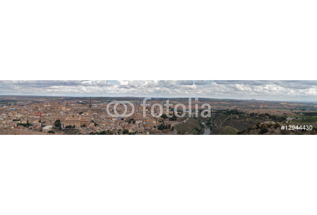 Panorama of the old Toledo city 64239