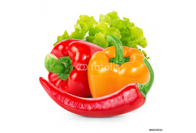 Bell peppers and chili pepper 64239