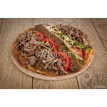 Doner Adana Kebab with Lahmacun - Turkish pizza pide 64239