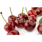 Cherry on white background 64239