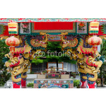 China Dragon, Chinese temple in Thailand. 64239