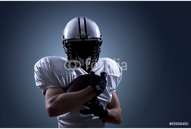 American Football Catch Ball >in action 64239