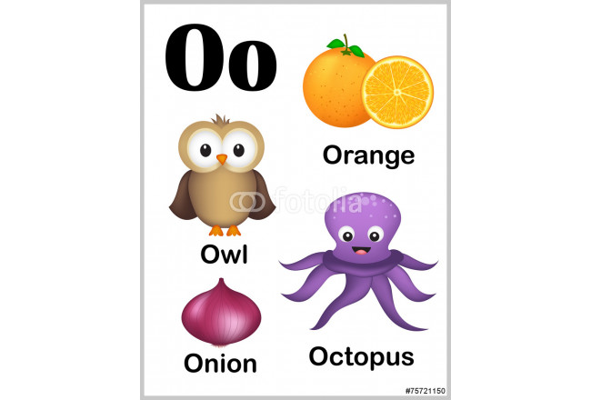 Alphabet letter O pictures 64239