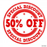 Special discount stamp 64239