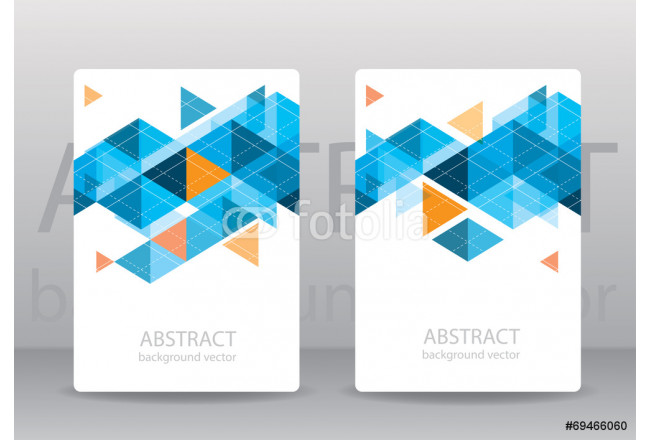 Abstract colorful geometric triangular backgrounds. vector moder 64239