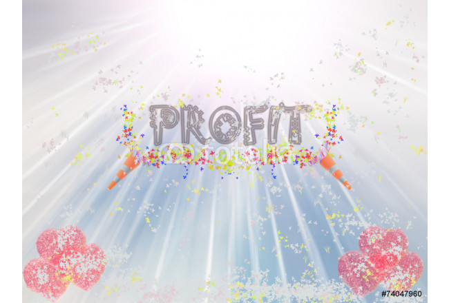 Profit Word Showing Income Earned From Business, Success, 64239