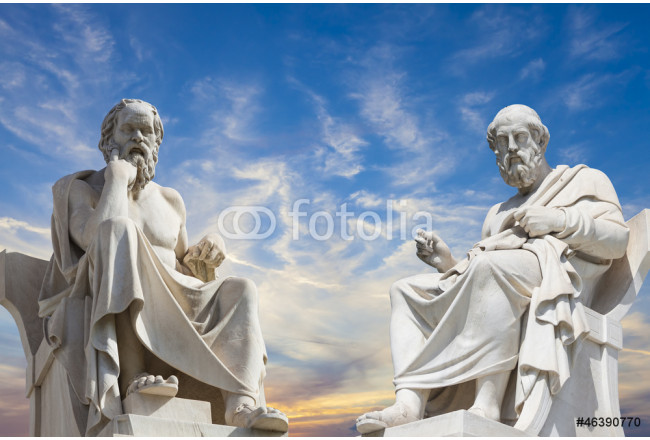 Plato and Socrates,the greatest ancient greek philosophers 64239