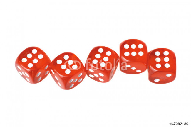 Five dices 64239