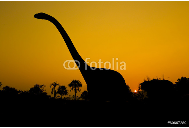 silhouettes of dinosaurs 64239