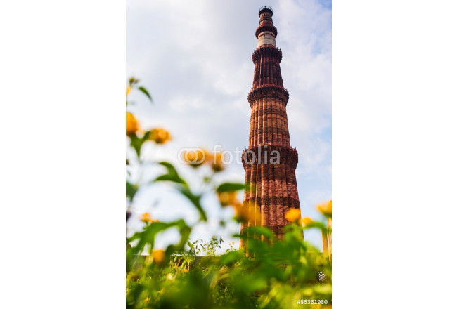 Qutub Minar is a one of the most popular place in New Delhi , India 64239