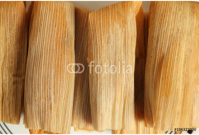 Chicken, cheese and pork tamales 64239