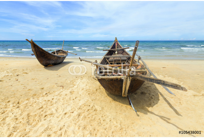 Two Bamboo boats 64239