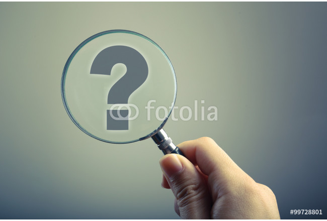 Magnifying Glass With Question Mark 64239