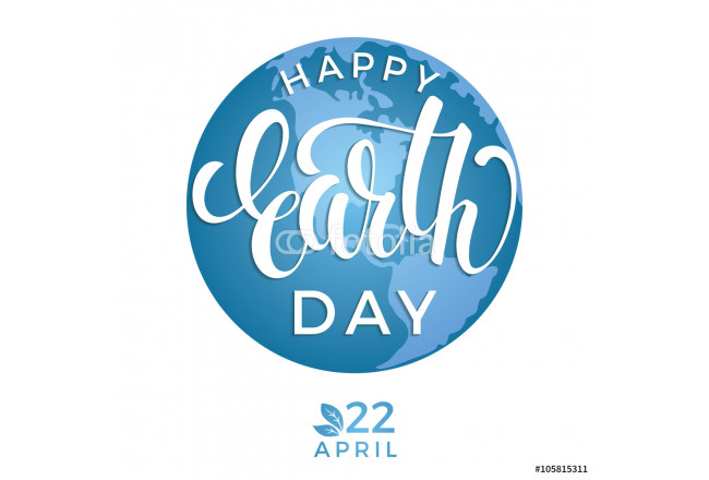 Earth Day day concept with planet Earth. 64239