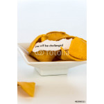 open fortune cookie - YOU WILL BE CHALLENGED 64239