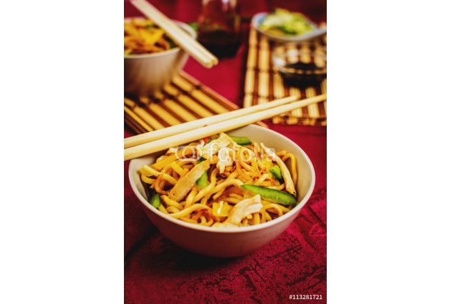 Traditional chinese noodles 64239
