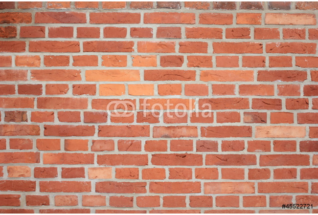 Painting background red bricks wall 64239