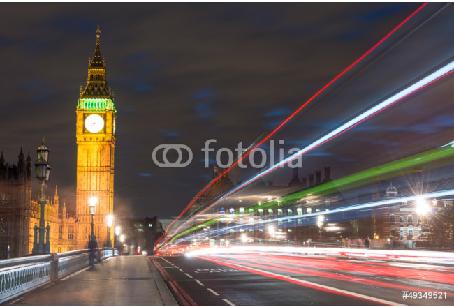Big Ben, one of the most prominent symbols of both London and En 64239