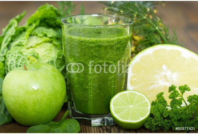 Art painting Healthy green smoothie 64239