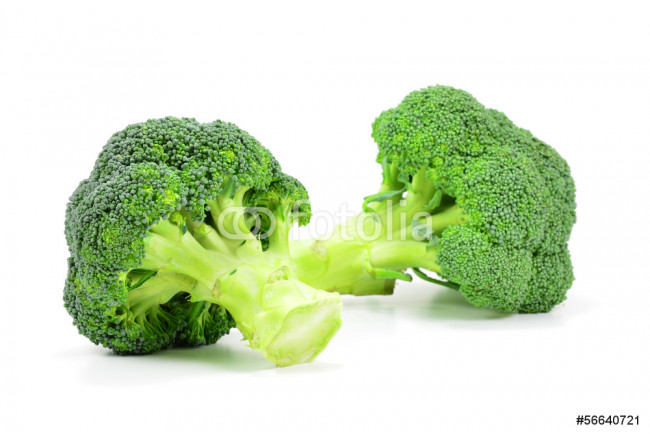 Quadro contemporaneo Isolated Broccoli 64239