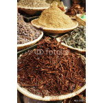 morrocan herbs flowers spices - cassia barks - in the Marrakesh 64239