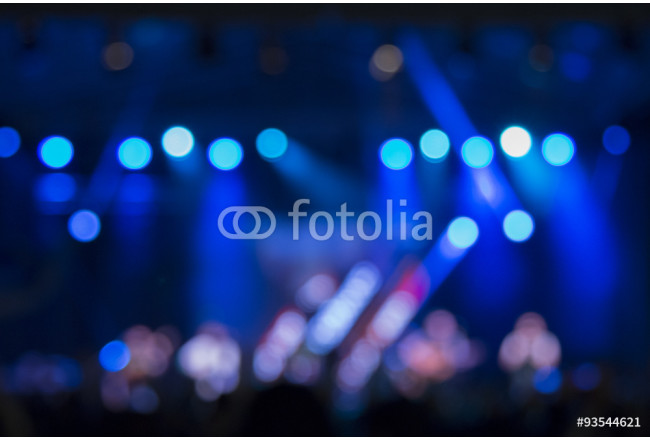 Defocused stage lights and crowd on a concert      64239