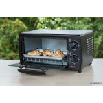 black toaster oven on natural background 64239