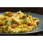 Chicken risotto with curry 64239