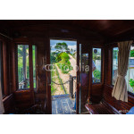 antique train transport tourist to visit in Dalat 64239
